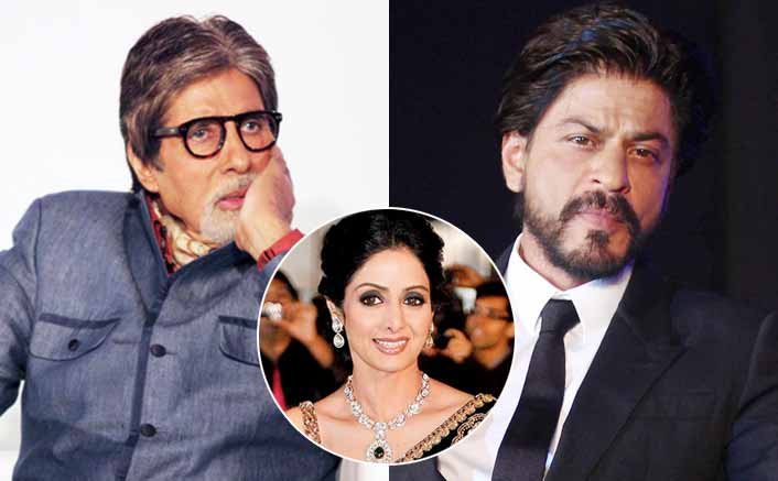 Shah Rukh Khan & Big B's Reaction On Sridevi's Death Will Make You Emotional