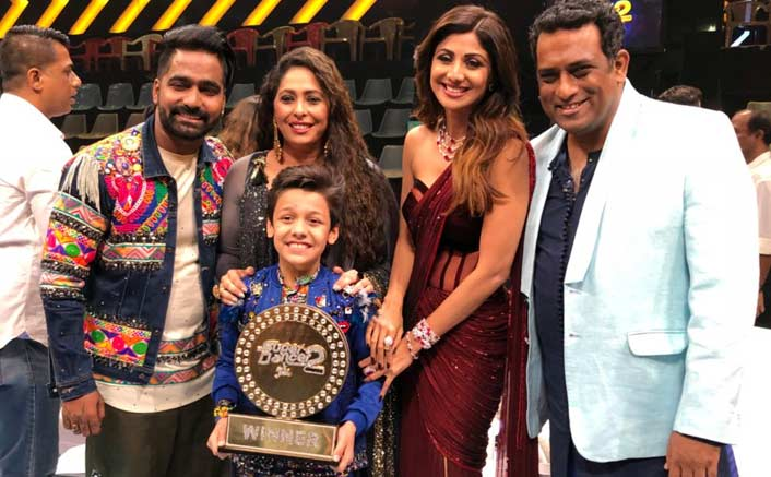 Super Dancer 2 winner: Bishal Sharma Takes Home TheWell-Deserved Trophy