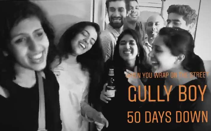 Team Gully Boy wrap their fifty-days schedule in style