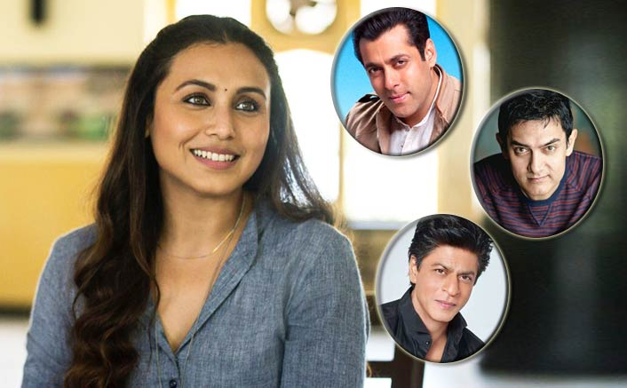 Three Khans come together to promote Rani's Hichki!