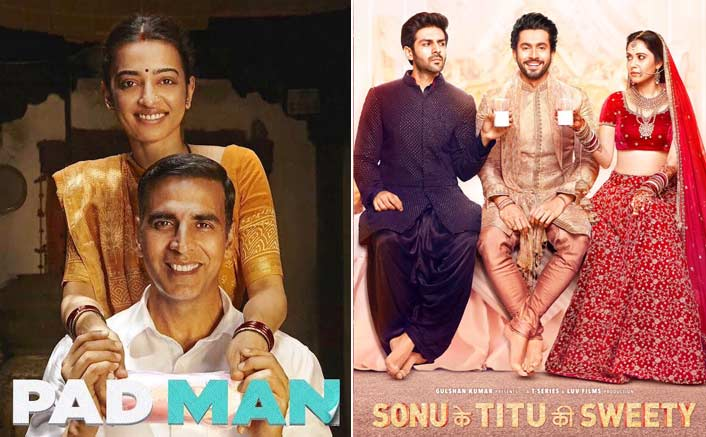 Will Sonu Ke Titu Ki Sweety Cross PadMan At The Box Office? VOTE NOW!