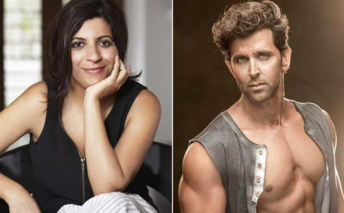 Zoya Akhtar and Hrithik Roshan