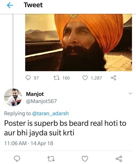 Akshay Kumar's New Pic From Kesari; Twitterati Troll For Fake Beard! WOAH Or NO?