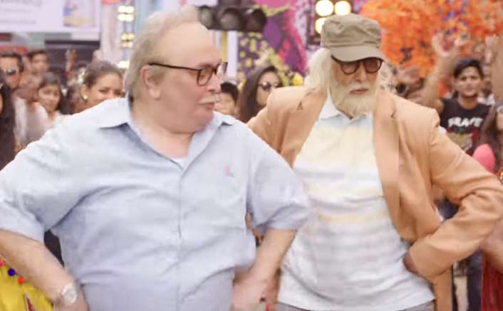 Amitabh Bachchan and Rishi Kapoor's quirky Badumbaaa song from 102 Not Out will make you scream Badumbaaa!
