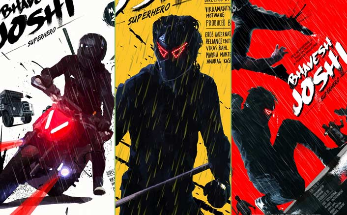 Bhavesh Joshi Superhero Posters: Harshvardhan Kapoor Starrer Looks Quirky & Colourful!