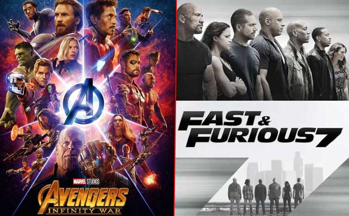 Box Office - Avengers - Infinity War smashes Fast and the Furious 7 weekend record by a distance