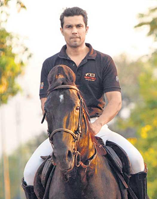 Randeep Hooda - Horse Riding and Polo
