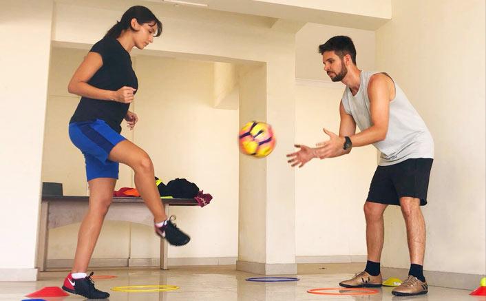 Nora Fatehi - Football
