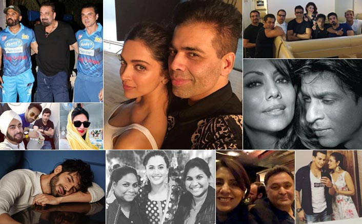 Koimoi's Daily Dose With Chai: SRK-Gauri's Black & White Picture, Deepika Padukone & Karan Johar's Shoot Selfie & Much More!
