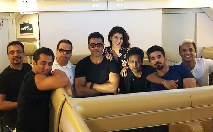 'Race 3' team wraps up Abu Dhabi schedule