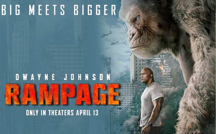 Rampage Movie Review Dwayne Johnson Rocks In This Wholesome