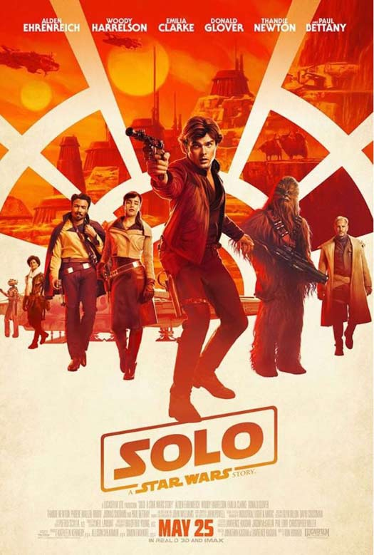 Reg: Official trailer and poster for 'Solo: A Star Wars Story'