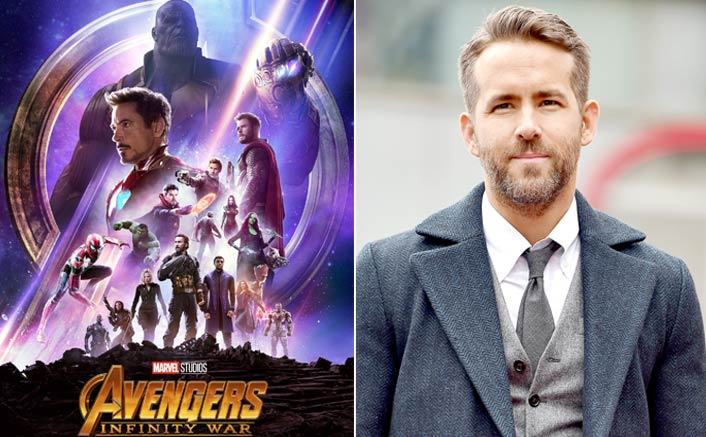 Ryan Reynolds celebrates '...Infinity War' success with 'Deadpool' joke