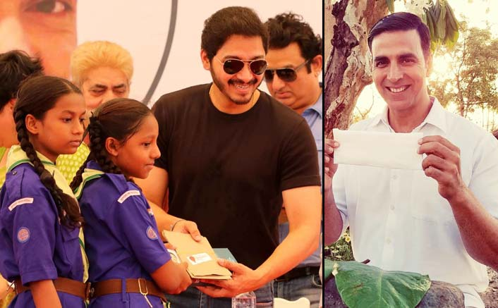 Shreyas thanks Akshay for opening discussion on sanitary pads