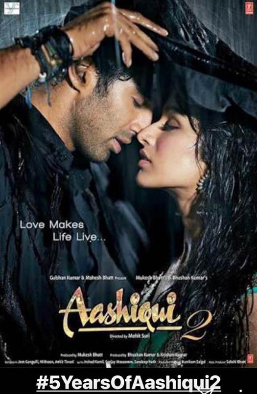 Shraddha on 5 years of Aashiqui 2