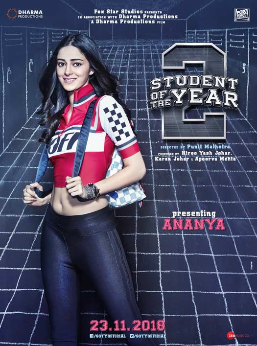 Student Of The Year 2 Posters