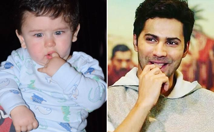Varun Dhawan and Taimur