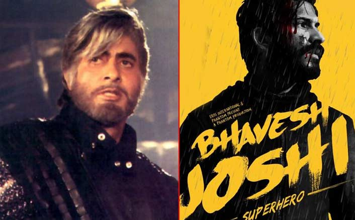 30 years after Big B's Shahenshah [1988], Bollywood comes a long way with Harshvardhan Kapoor's Bhavesh Joshi Superhero [2018]