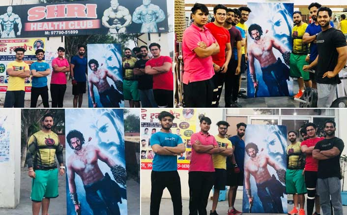 Baahubali superstar, Prabhas turns Poster boy for Punjab gym