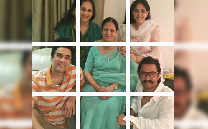 Aamir Khan shares an adorable family picture on Mother's day