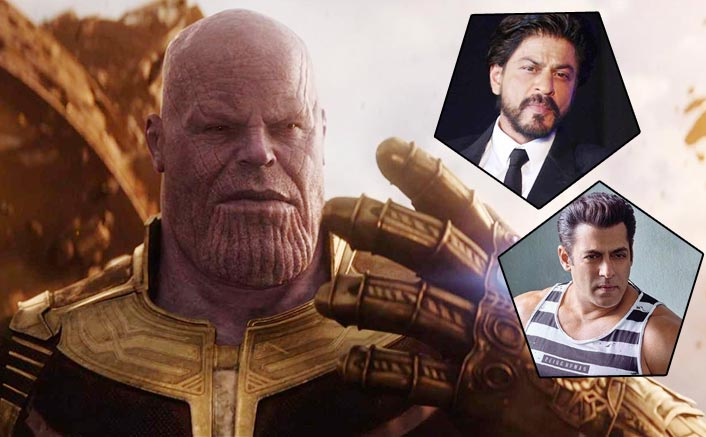 Avengers: Infinity War Beats This Shah Rukh Khan Biggie; All Set To Cross This Salman Khan Starrer Too!