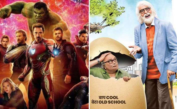 Box Office - Avengers - Infinity War collects almost double of new release 102 Not Out on its second Saturday