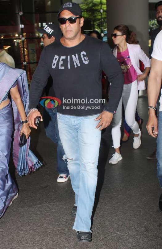 Celeb Spotting: Salman Khan