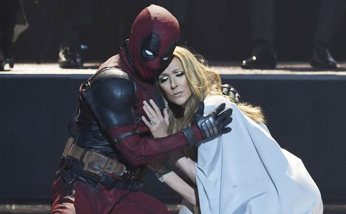 'Deadpool' dances with Celine Dion in her new 'Ashes' music video!
