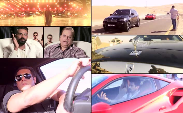 The making of Race 3 video is here to give us goosebumps