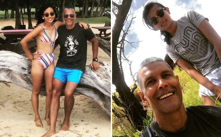Milind Soman enjoys Hawaiian vacation with wife