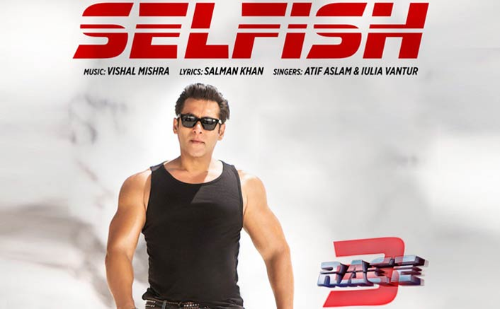 How Salman Khan turned lyricist for 'Selfish' in 'Race 3'