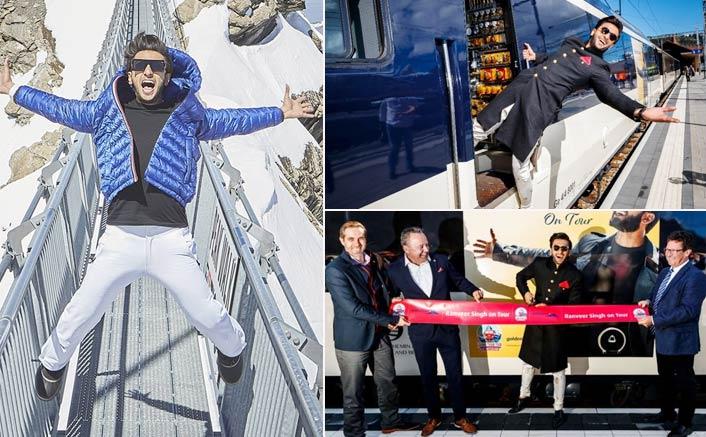 Ranveer Singh inaugurates 'Ranveer on Tour' train in Switzerland