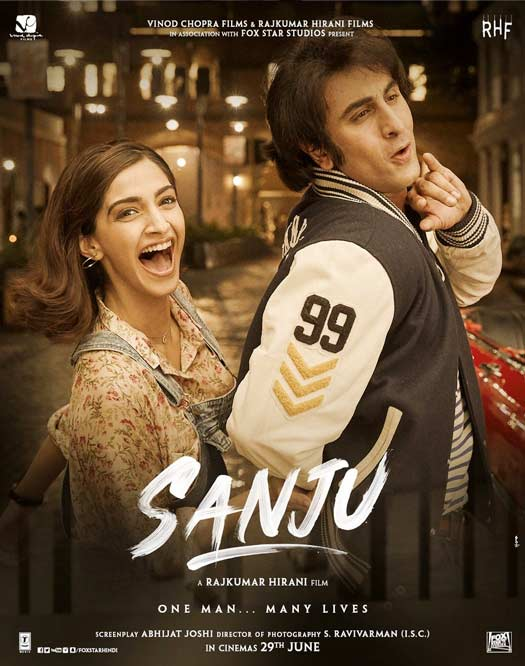 Sanju NEW Poster: Ranbir Kapoor & Sonam Kapoor's Crazy Romantic Love Life!