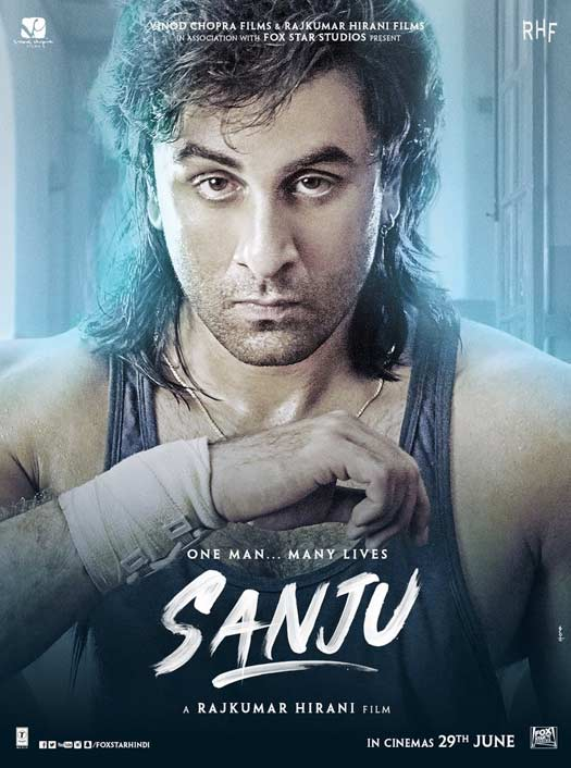 Sanju New Poster: Ranbir Kapoor Looks