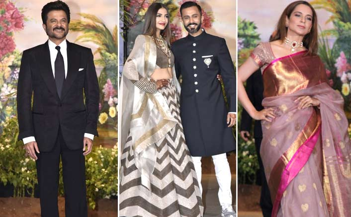 Sonam Kapoor & Anand Ahuja: The Glam Couple's Reception Live Updates