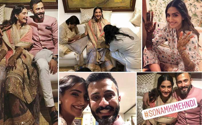 Sonam Kapoor's wedding revelry begins with mehendi ceremony