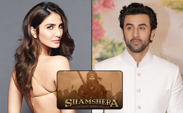 Vaani - The Seductive Temptress In Ranbir Kapoor's Shamshera!