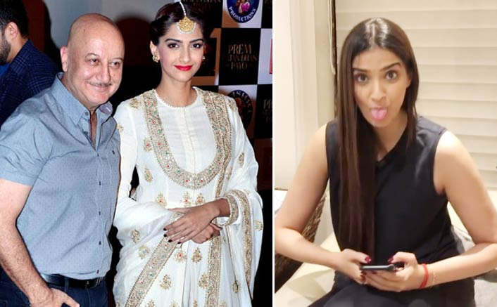 VIDEO: Anupam Kher's Sweet Wish For Bride To Be Sonam Kapoor!