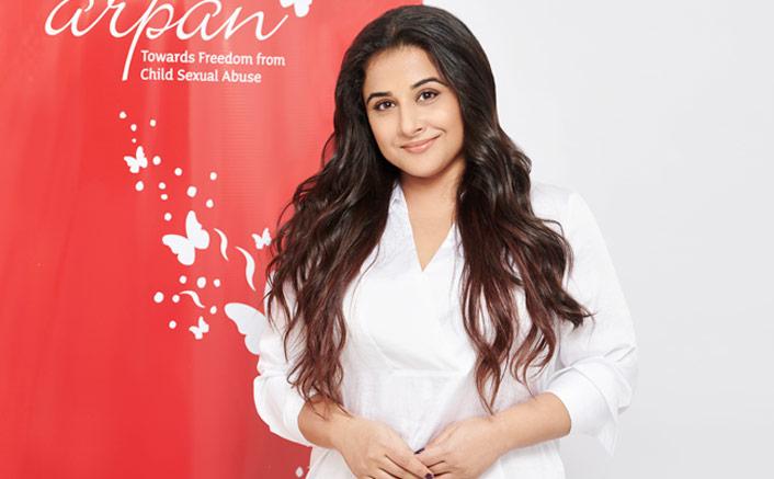 Vidya Balan Vidya Balan joins Arpan as their Goodwill Ambassador