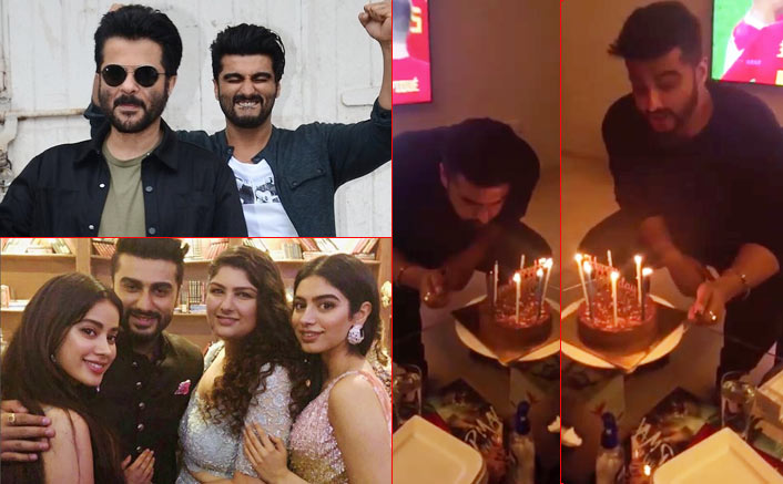 On 33rd birthday, Arjun Kapoor revels in family's love