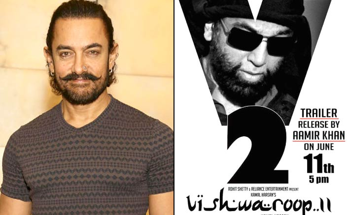 Aamir Khan Will Launch The Trailer Of Kamal Haasan's Vishwaroop 2!