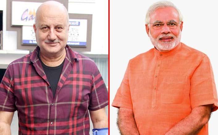 Anupam Kher calls Narendra Modi 'rockstar'
