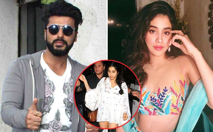 Arjun Kapoor takes on the media again for an inappropriate report on Jhanvi Kapoor's clothes