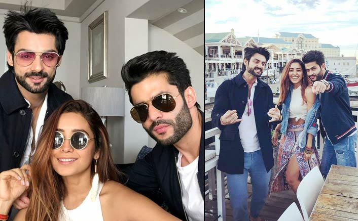 Asha Negi, Rahull Sharma in Cape Town for Karan Wahi's Pre Birthday Celebration