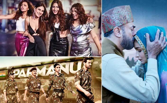 Box Office - Veere Di Wedding, Parmanu - The Story of Pokhran and Raazi - All three films jump again on Saturday