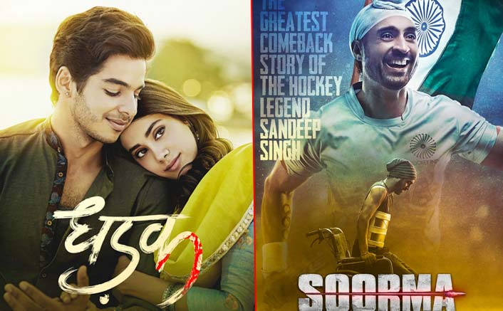 Dhadak VS Soorma: Diljit Dosanjh and debutante Ishaan Khatter release trailers for their films