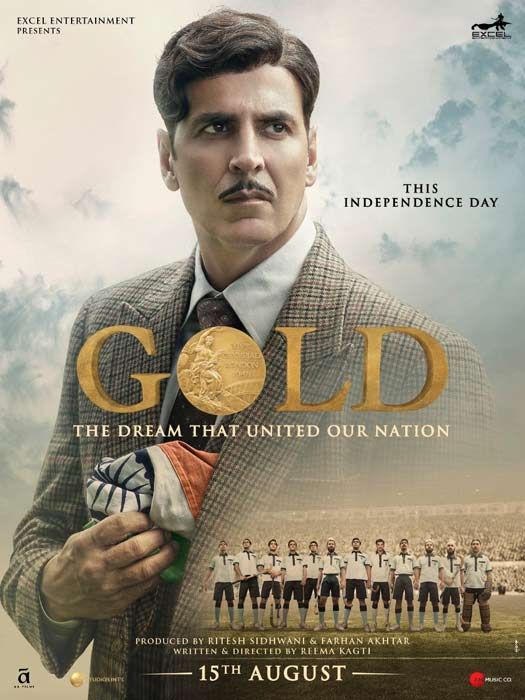 Gold poster presents the dream that united the nation