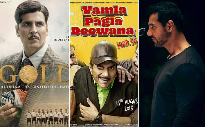 Gold vs Yamla Pagla Deewana Phir Se vs Satyamev Jayate: Does A 3 Way Box-Office Clash Make Sense?