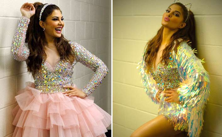 Jacqueline Fernandez experiments with her outfits at the Dabangg Tour