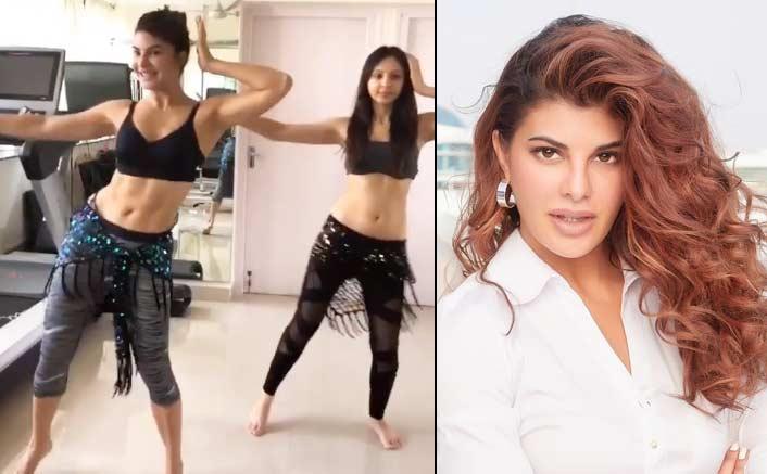 Jacqueline Fernandez showcases her belly dance moves for Dabangg Tour